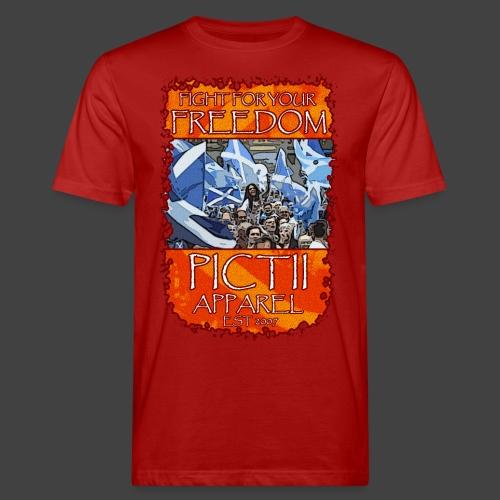 PICTFREE2b - COLOUR 2 - Men's Organic T-Shirt