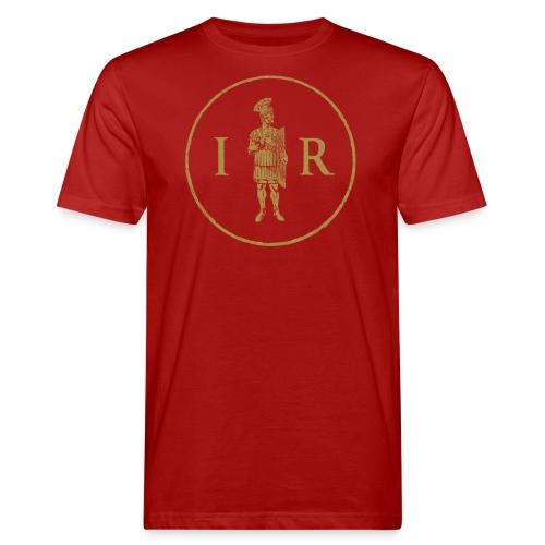 Pretorianin i inicjały   Pretorian and initial - Ekologiczna koszulka męska