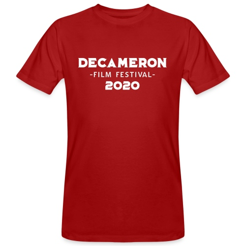 DECAMERON Film Festival 2020 - Men's Organic T-Shirt