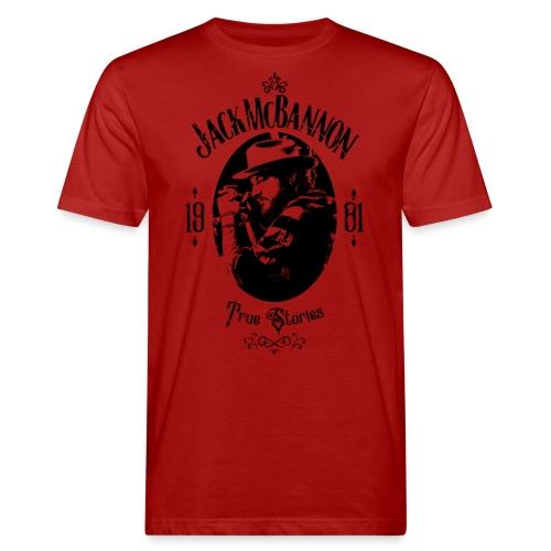 Jack McBannon - True Stories Portrait - Männer Bio-T-Shirt