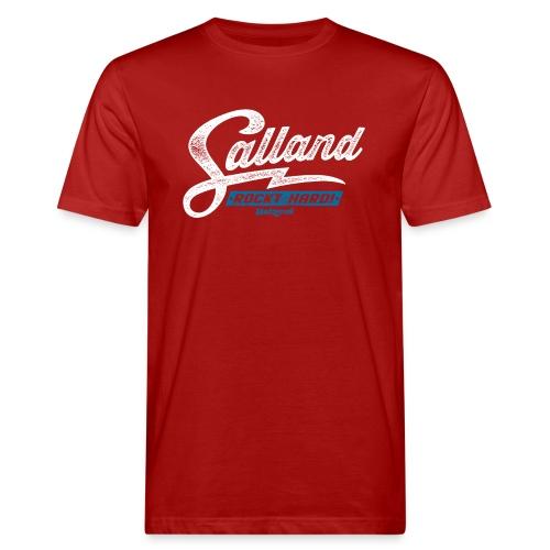 Batzer Salland Rockt - Mannen Bio-T-shirt