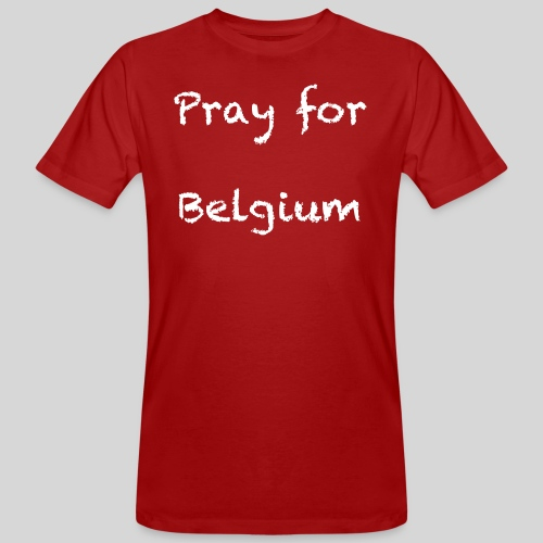 Pray for Belgium - T-shirt bio Homme