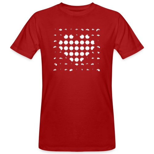 Schiessbuden-Romantik - Männer Bio-T-Shirt