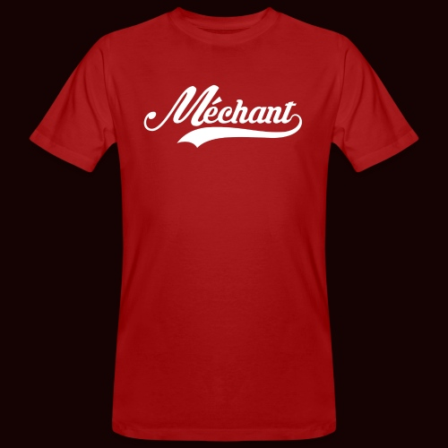 mechant_logo_white - T-shirt bio Homme