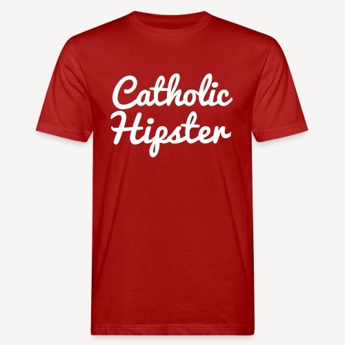 CATHOLIC HIPSTER - Männer Bio-T-Shirt
