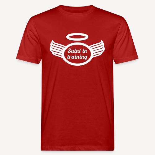 Heiliger in der Ausbildung - Männer Bio-T-Shirt