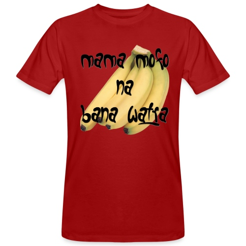 mama mofo na bana watra 001 png - Men's Organic T-Shirt