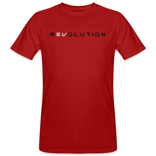 REVOLUTION RED - Männer Bio-T-Shirt