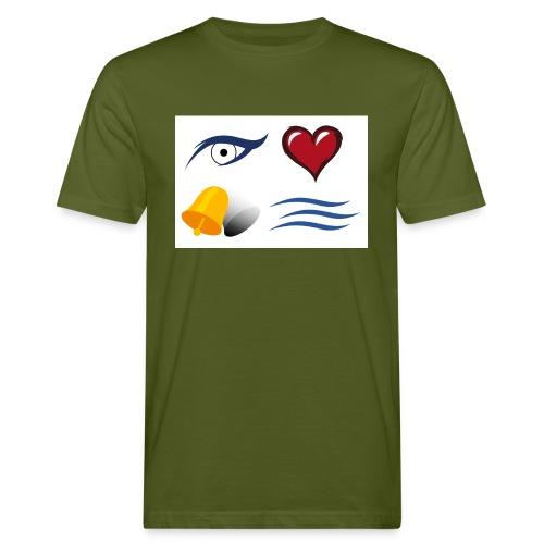 I LOVE GLOCKEN BACH jpg - Männer Bio-T-Shirt