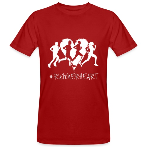 #Runnerheart Group - Männer Bio-T-Shirt