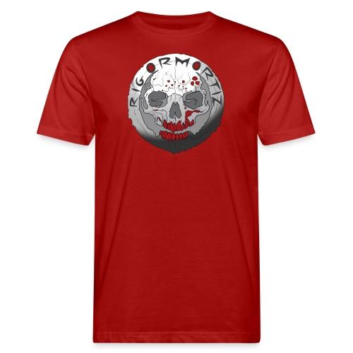 Rigormortiz Black and White Design - Men's Organic T-Shirt
