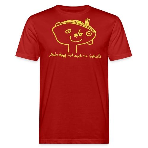 Kopfschule - Männer Bio-T-Shirt