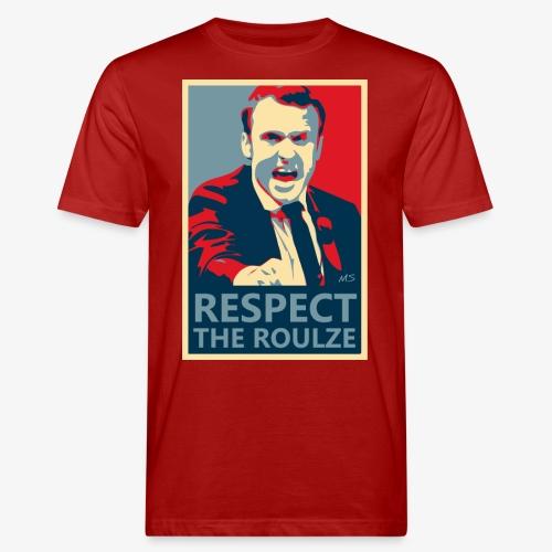 Respect The Roulze ! - T-shirt bio Homme