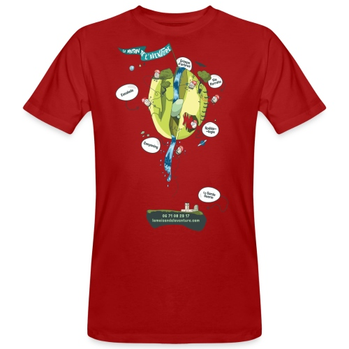 T-shirt Maison de L'aventure - T-shirt bio Homme