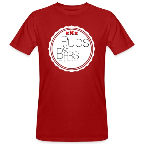 PubsnBars - Mannen Bio-T-shirt
