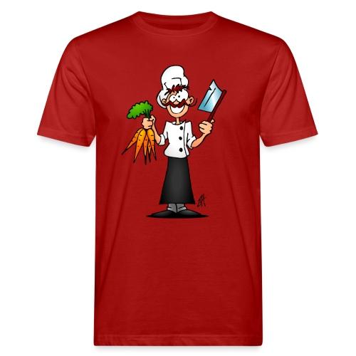 The vegetarian chef - Men's Organic T-Shirt