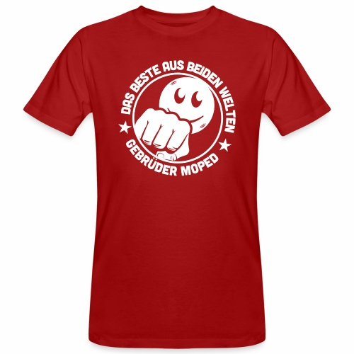 Gebrüder Moped - Männer Bio-T-Shirt