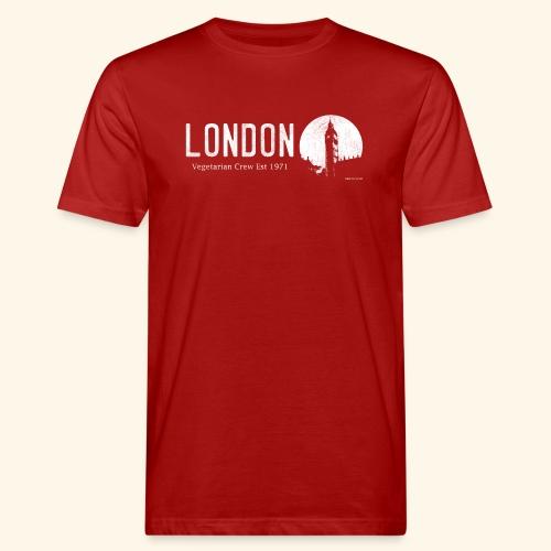 London Vegetarian Crew - Men's Organic T-Shirt