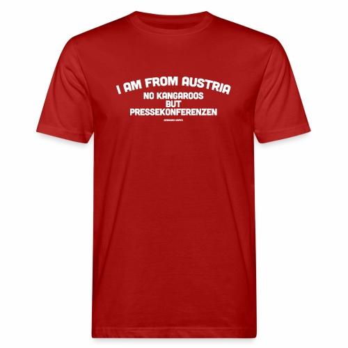 Pressekonferenzen - Männer Bio-T-Shirt