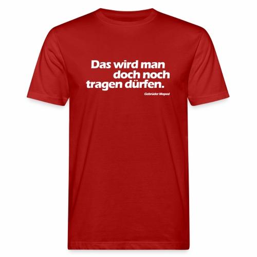 Kleidungsfreiheit - Männer Bio-T-Shirt