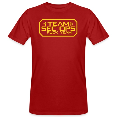 Sec Ops - Männer Bio-T-Shirt