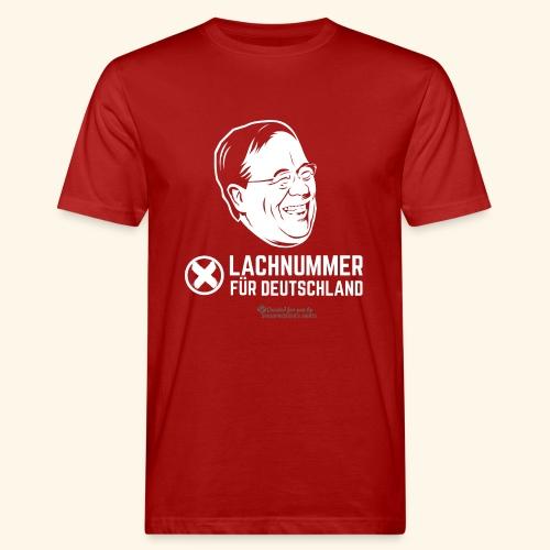 Lachnummer für Deutschland - Männer Bio-T-Shirt