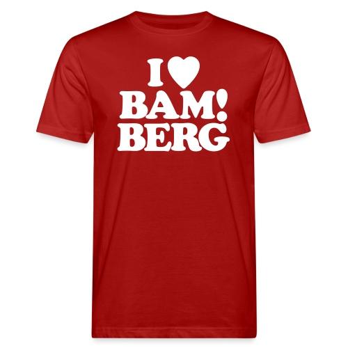 I Love Bamberg 2018 - Männer Bio-T-Shirt