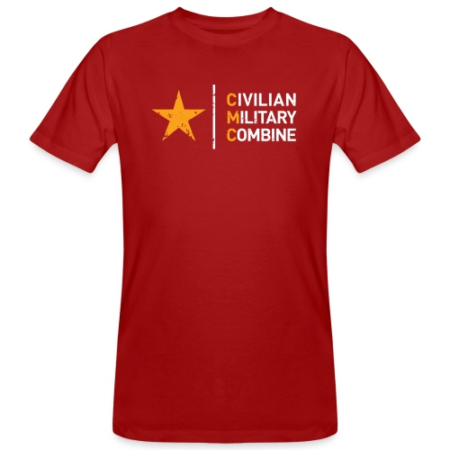 CMC Design - Mannen Bio-T-shirt