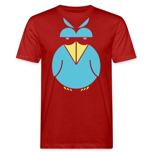 insolent bird blueneon png - Männer Bio-T-Shirt
