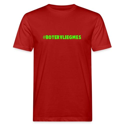 #botervliegmes T-shirt (mannen) - Mannen Bio-T-shirt