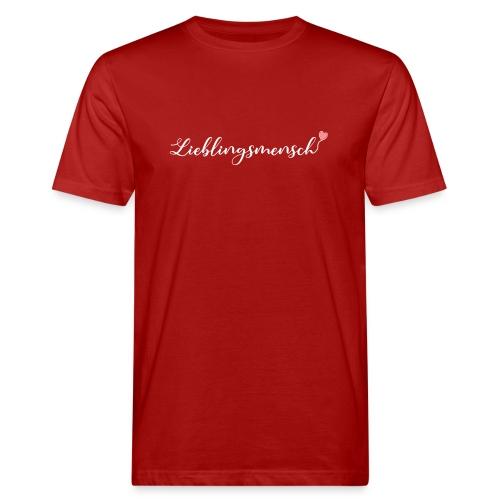 lieblingsmensch 01 - Männer Bio-T-Shirt