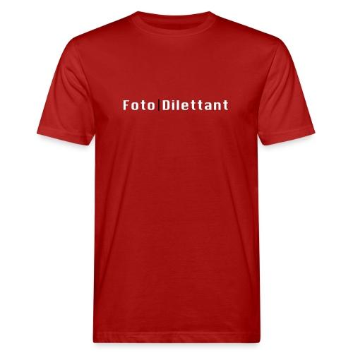 Geschenke für Amateurfotografen helles Design - Männer Bio-T-Shirt