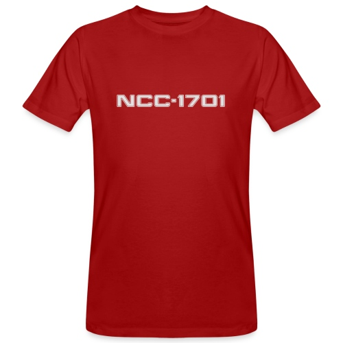 NCC-1701 White - Men's Organic T-Shirt
