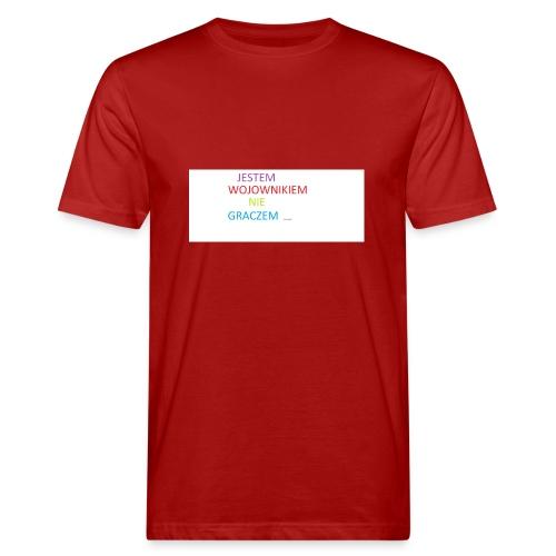 kim jesteś - Ekologiczna koszulka męska