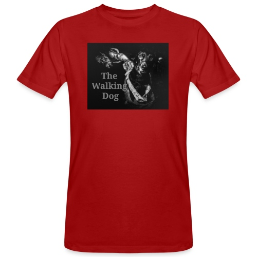 The Walking Dog - Männer Bio-T-Shirt