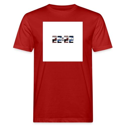 22:22 buttons - Mannen Bio-T-shirt
