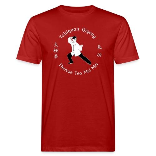 Teo Mei Mei White Logo - Ekologisk T-shirt herr