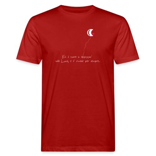 CUORE-E-LUNA - T-shirt ecologica da uomo