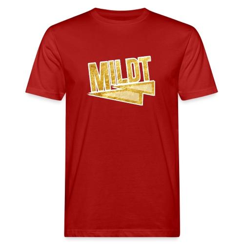 MILDT Gouden Vrouwen Shirt - Mannen Bio-T-shirt