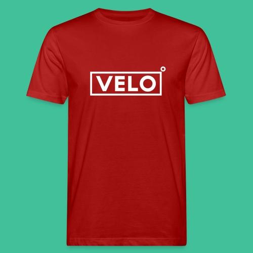 Velo Icon - Red Clr - Men's Organic T-Shirt