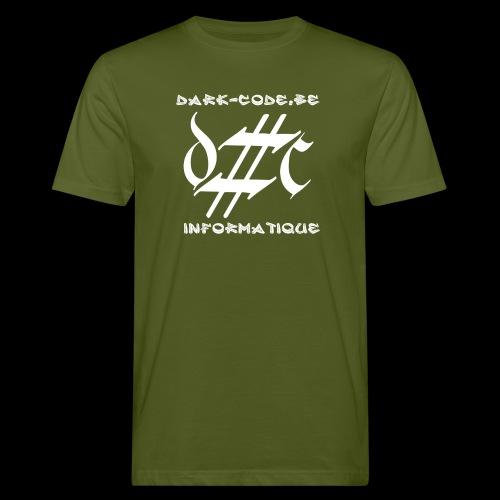 Dark-Code Gothic Logo - T-shirt bio Homme