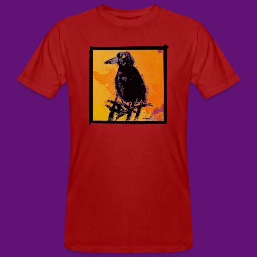 crow pop tee - T-shirt bio Homme