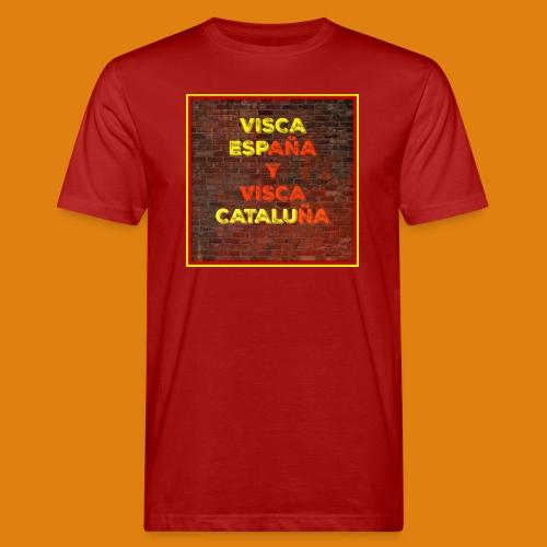 SPAIN AND CATALONIA - Men's Organic T-Shirt