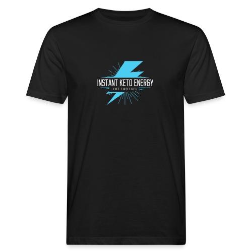 instantketoenergy - Männer Bio-T-Shirt