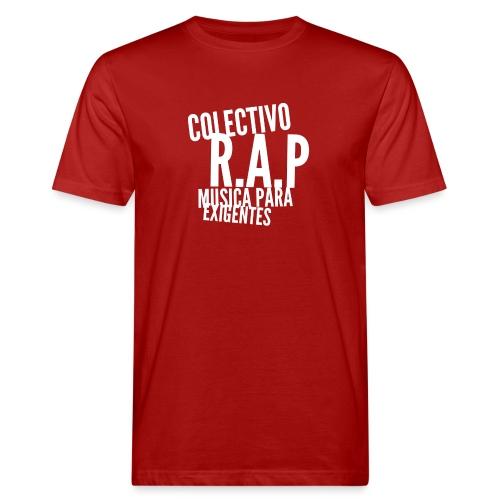 SOLO PARA AMANTES DEL RAP// Colectivo R.A.P - Camiseta ecológica hombre