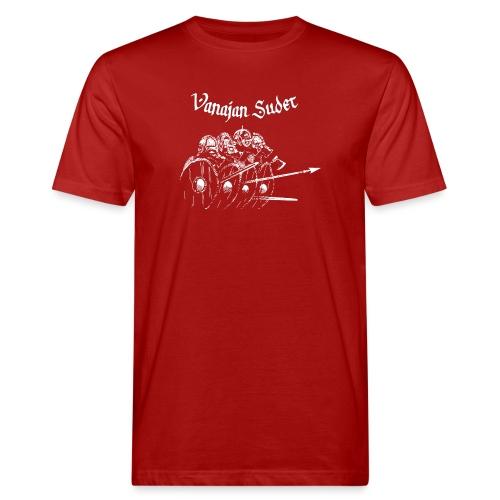 Kilpimuuri B - Miesten luonnonmukainen t-paita