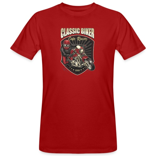 Classic Biker - T-shirt ecologica da uomo