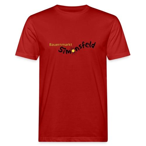 bauernmarkt simonsfeld - Männer Bio-T-Shirt