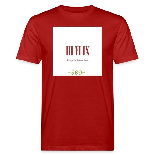 III VI IX Alessandro Cabano Luca 369 - Männer Bio-T-Shirt