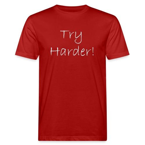 Try_Harder_W - Ekologisk T-shirt herr